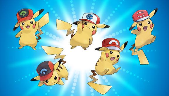 06e669625 Consigue a Pikachu con las gorras de Ash