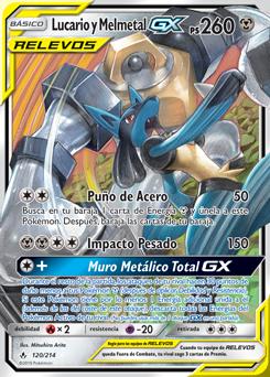 Lucario y Melmetal-