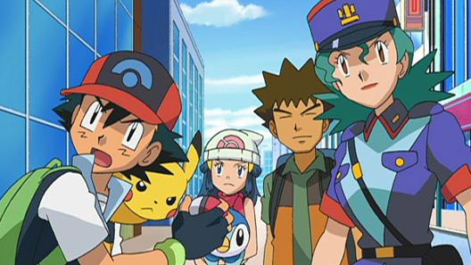 Pokémon DP: Los vencedores de la Liga Sinnoh