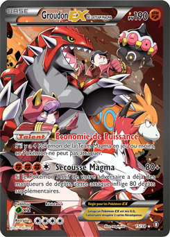 Groudon-EX de la Team Magma