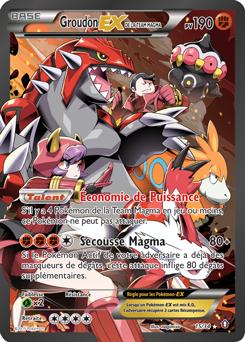 Groudon-EX de la Team Magma