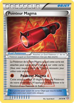 Pointeur Magma