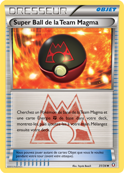 Super Ball de la Team Magma