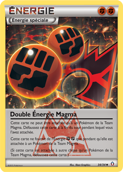 Double Énergie Magma