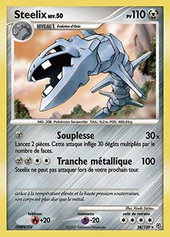 Steelix diamant perle encyclop die des cartes du jcc - Pokemon rare diamant ...