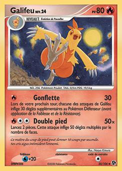 Galifeu platine encyclop die des cartes du jcc www - Pokemon platine evolution ...
