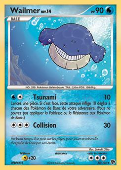 Wailmer | Pokédex Wailmer Pokemon Card