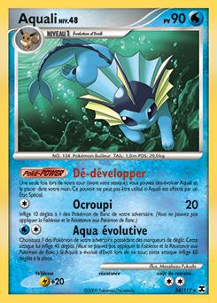 Aquali pok dex - Carte pokemon aquali ...