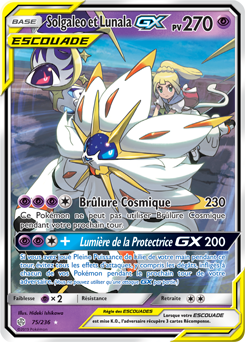 Solgaleo Et Lunala Gx Eclipse Cosmique Encyclopedie Des Cartes