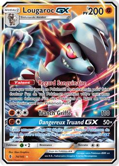 Lougaroc gx sm gardiens ascendants encyclop die des cartes du jcc - Tout les carte pokemon ex du monde ...