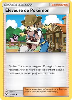 Éleveuse de Pokémon