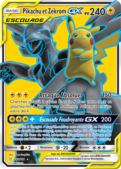 Pikachu et Zekrom-