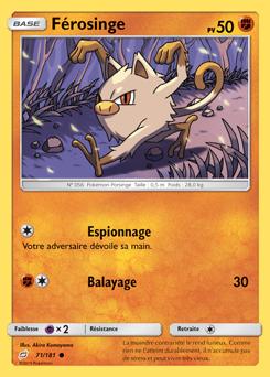F rosinge invasion carmin encyclop die des cartes du jcc - Pokemon ferosinge ...