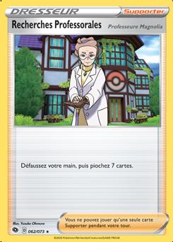 Recherches Professorales (Professeure Magnolia)