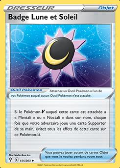 Badge Lune et Soleil
