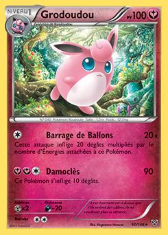 Grodoudou xy encyclop die des cartes du jcc - Carte pokemon fee ...