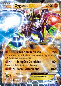 Zygarde ex xy impact des destins encyclop die des cartes du jcc - Imprimer une carte pokemon ...
