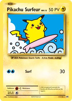 Pikachu Surfeur