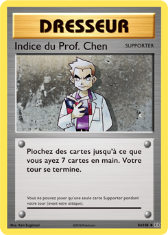 Indice du Prof. Chen