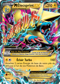 M lecsprint eex xy vigueur spectrale encyclop die - Photo de carte pokemon ex ...