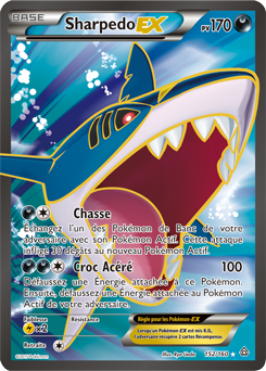 Sharpedo ex xy primo choc encyclop die des cartes du - Photo de carte pokemon ex ...