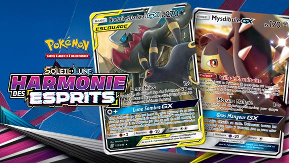 Nouveaux Pokémon Gx De Lextension Soleil Et Lune Harmonie