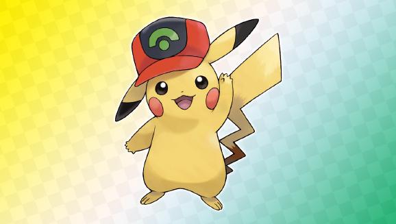 Pikachu de la region d'Hoenn