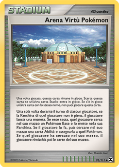 Arena Virtù Pokémon