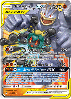 Marshadow e Machamp-