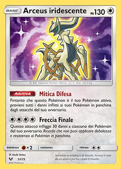 Arceus iridescente
