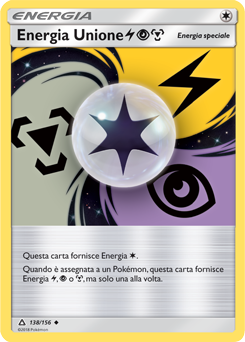 Energia Unione { Lightning }{ Psychic }{ Metal }