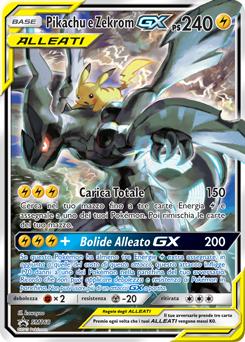 Pikachu e Zekrom-GX