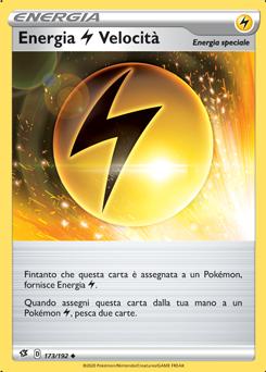 Energia { Lightning } Velocità