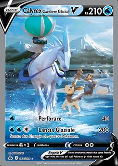 Calyrex Cavaliere Glaciale V