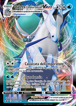 Calyrex Cavaliere Glaciale VMAX