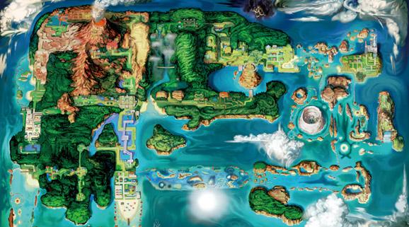 Pokémon Zaffiro Alpha & Rubino Omega Hoenn-map-578x321