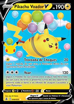 Pikachu Voador V