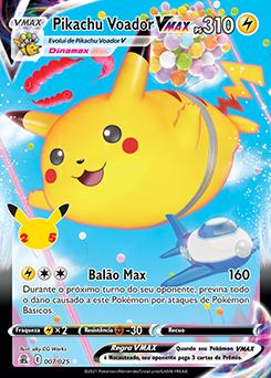 Pikachu Voador VMAX