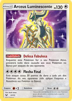 Arceus Luminescente