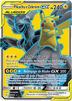 Pikachu e Zekrom-