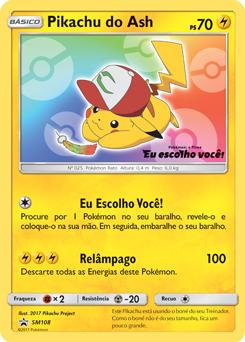 Pikachu do Ash