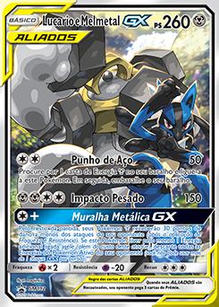 Lucario e Melmetal-GX