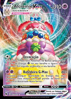 Alcremie VMAX | Caminho do Campeão | Banco de Dados de Cards do Estampas  Ilustradas | www.pokemon.net.br