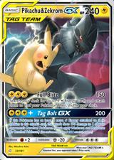 Pokemon Sun and Moon Team Up Fighting Pokemon Playing Trading Cards Pokémon