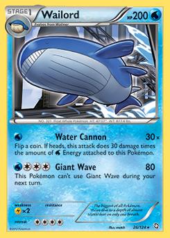 Wailord | EX Legend Maker | TCG Card Database | Pokemon.com Wailord Pokemon Card