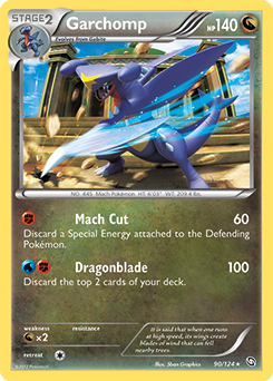 garchomp card dragons exalted - photo #1