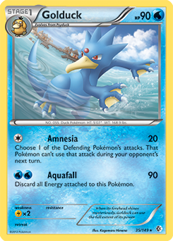 Golduck Sun Amp Moon Tcg Card Database Pokemon Com