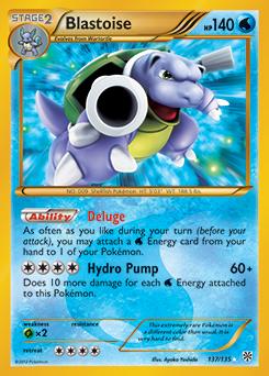 Blastoise ex xy tcg card database - Tortank pokemon y ...