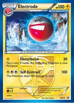 electrode pokemon card - photo #1