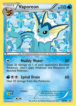 Pokemon Cards Vaporeon